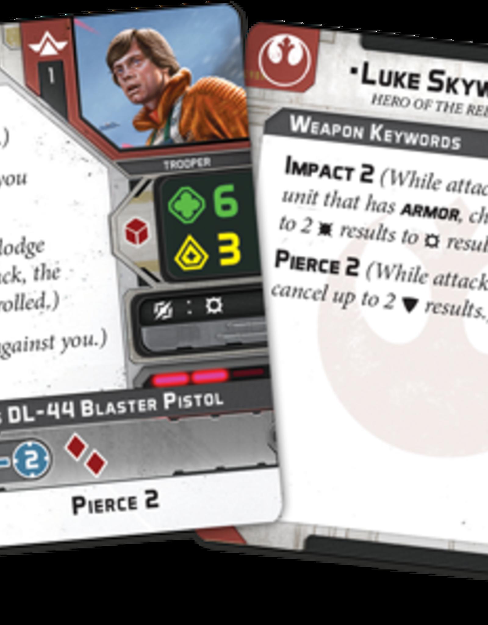 Luke Skywalker Commander Expansion - Limited Edition