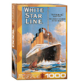 Eurographics Titanic White Star Line (1000pc)