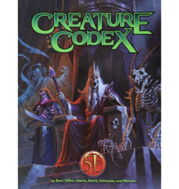 Creature Codex (Sourcebook)