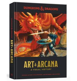 Wizards of the Coast Art & Arcana: A Visual History (Standard Edition)