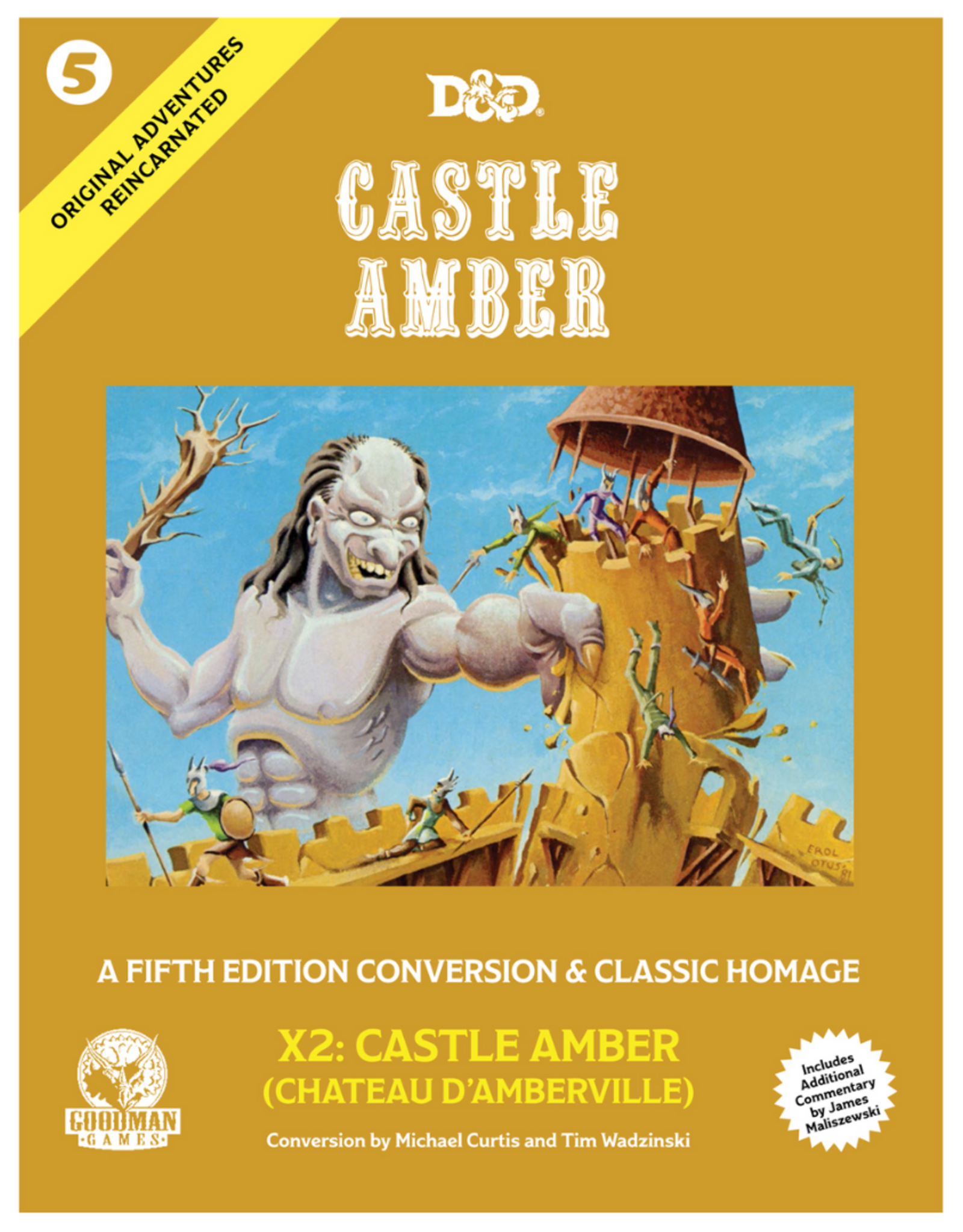 Original Adventures Reincarnated #5: Castle Amber (Adventure Module)