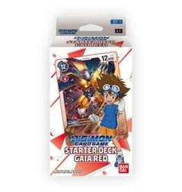 Bandai Japan Digimon Card Game Starter Deck - Gaia Red