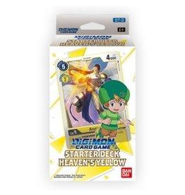 Bandai Japan Digimon Card Game Starter Deck - Heavens Yellow