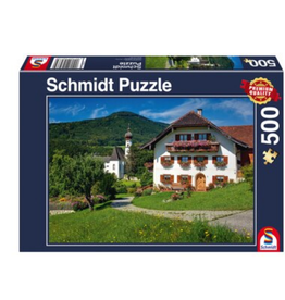 Holidays in Hoglworth Monastery, Upper Bavaria (500pc)