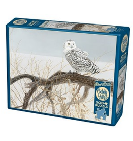 Cobble Hill Puzzle Company Fallen Willow Snowy Owl (500pc)