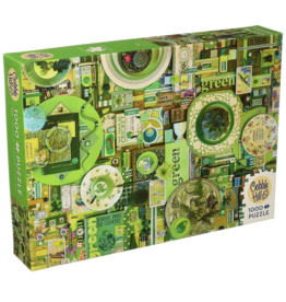 Cobble Hill Puzzle Company Green (1000pc)