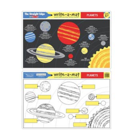 Melissa & Doug Learning Mat - Planets