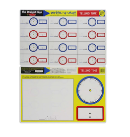 Melissa & Doug Learning Mat - Telling Time