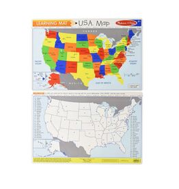 Melissa & Doug Learning Mat - The United States