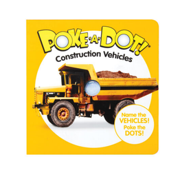 Melissa & Doug Poke-A-Dot! - Construction Vehicles