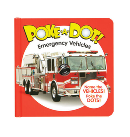 Melissa & Doug Poke-A-Dot! - Emergency Vehicles