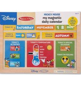 Melissa & Doug My Magnetic Daily Calendar (Mickey Mouse)