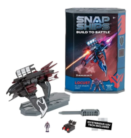 Play Monster Snap Ships - Locust K.L.A.W. Stealth Craft