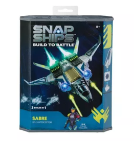 Play Monster Snap Ships - Sabre XF-23 Interceptor