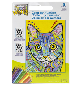 Paint Works Colorful Cat (Beginner)