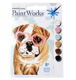 Paint Works Dog Love (Beginner)