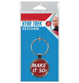 Ata-Boy Star Trek: The Next Generation Make it So! Keychain