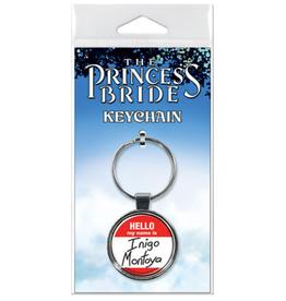 Ata-Boy The Princess Bride: Hello My Name is Inigo Montoya Keychain