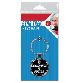 Ata-Boy Star Trek: The Next Generation Resistance is Futile Keychain