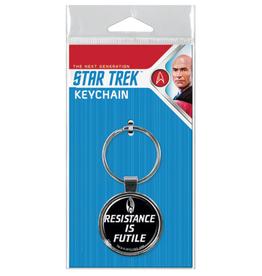 Ata-Boy Star Trek: The Next Generation Resistance is Futile Keychain