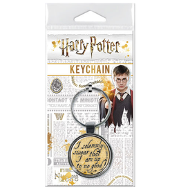 Ata-Boy Harry Potter: I  Solemnly Swear Keychain