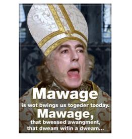Ata-Boy The Princess Bride: Mawage!