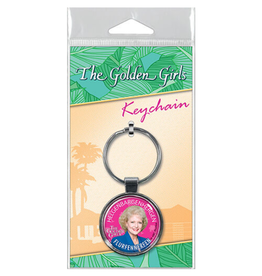 Ata-Boy The Golden Girls: Flurfennerfen Keychain