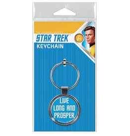 Ata-Boy Star Trek: Live Long and Prosper Keychain