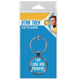 Ata-Boy Star Trek: Live Long and Prosper Keychain