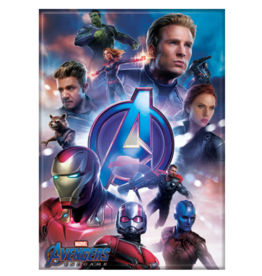 Ata-Boy Avengers Endgame: Group on Blue Background