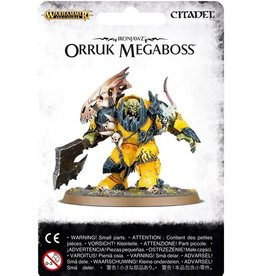 Games Workshop Ironjawz Orruk Megaboss