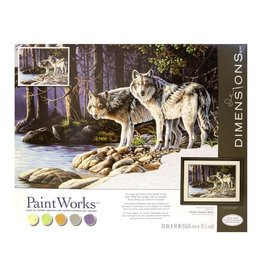 Paint Works Gray Wolves (Professional)
