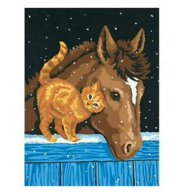 Paint Works Pony & Kitten (Intermediate)