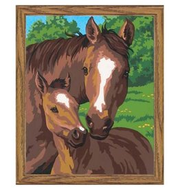 Paint Works Pony & Mother (Beginner)