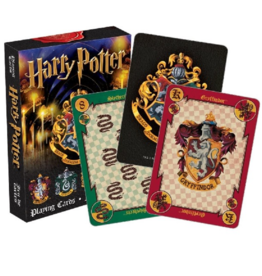 Harry Potter: Hogwarts House Crests Deck of Cards