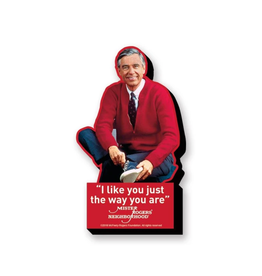 Mister Rogers' I like you just the way you are Funky Chunky Magnet