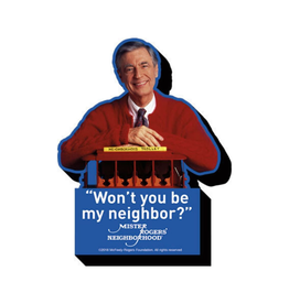Mister Rogers' Won't you be my neighbor? Funky Chunky Magnet