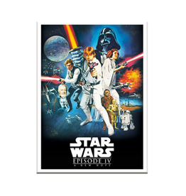 Star Wars Episode IV Movie Poster Funky Chunky Magnet