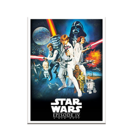 Star Wars Episode IV Movie Poster
