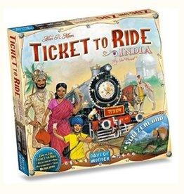 Ticket to Ride (India & Switzerland)