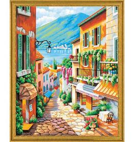 Paint Works The Village Steps - Large