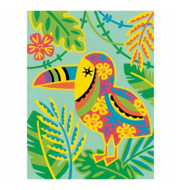 Paint Works Toucan Whimsical