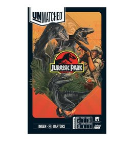 Mondo Games Unmatched: Jurassic Park - Ingen Vs. Raptors