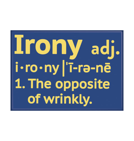Ata-Boy SnorgTees: Irony Definition
