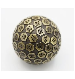 Foam Brain Games 45mm D100 (Metal - Bronze)