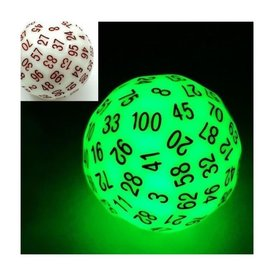 Foam Brain Games 45mm D100 (Glow Green)