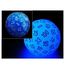 Foam Brain Games 45mm D100 (Glow Blue)