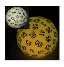 Foam Brain Games 45mm D100 (Glow Yellow)