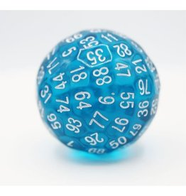 Foam Brain Games 45mm D100 (Translucent Teal)