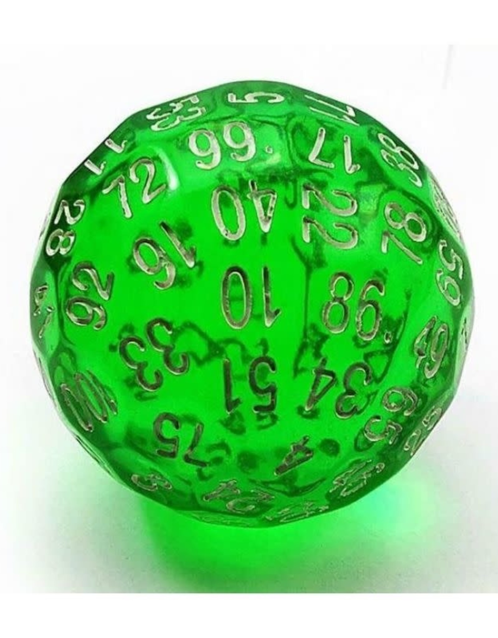 Foam Brain Games 45mm D100 (Translucent Green)